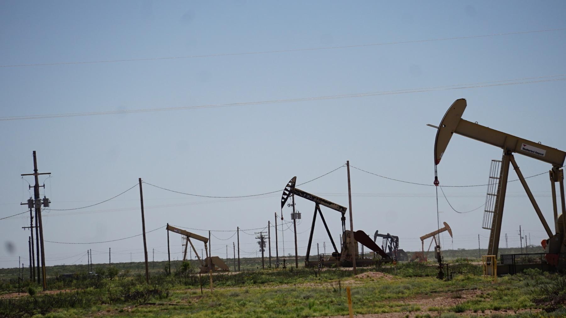 Oil Field Mountain Film